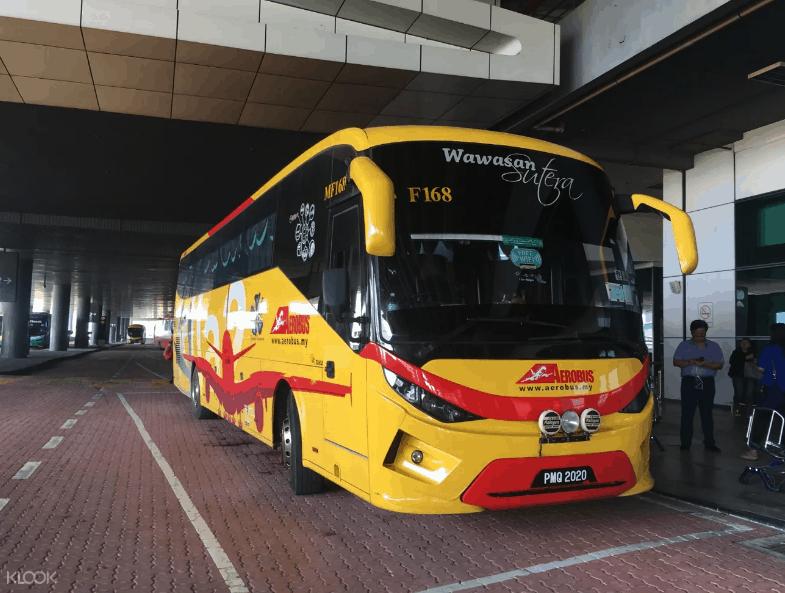 吉隆坡機場到市區 共乘巴士