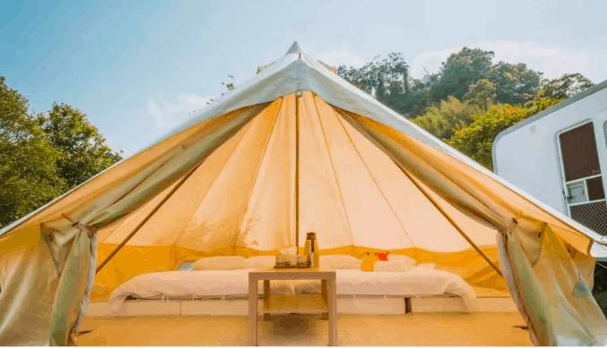 豪華露營 帳篷