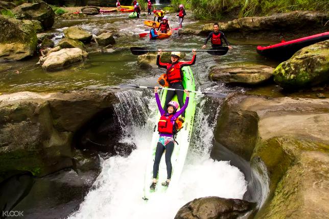 台北|gogo台北一日遊,挑戰你沒想過的7種玩法-獨木舟