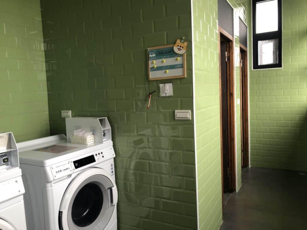 台中|逢甲|MINI HOTEL,公共空間-8樓洗衣間