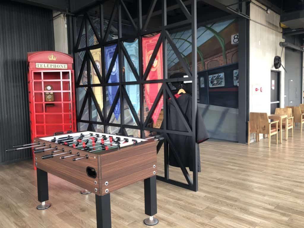 台中|逢甲|MINI HOTEL,公共空間-8樓自助吧3