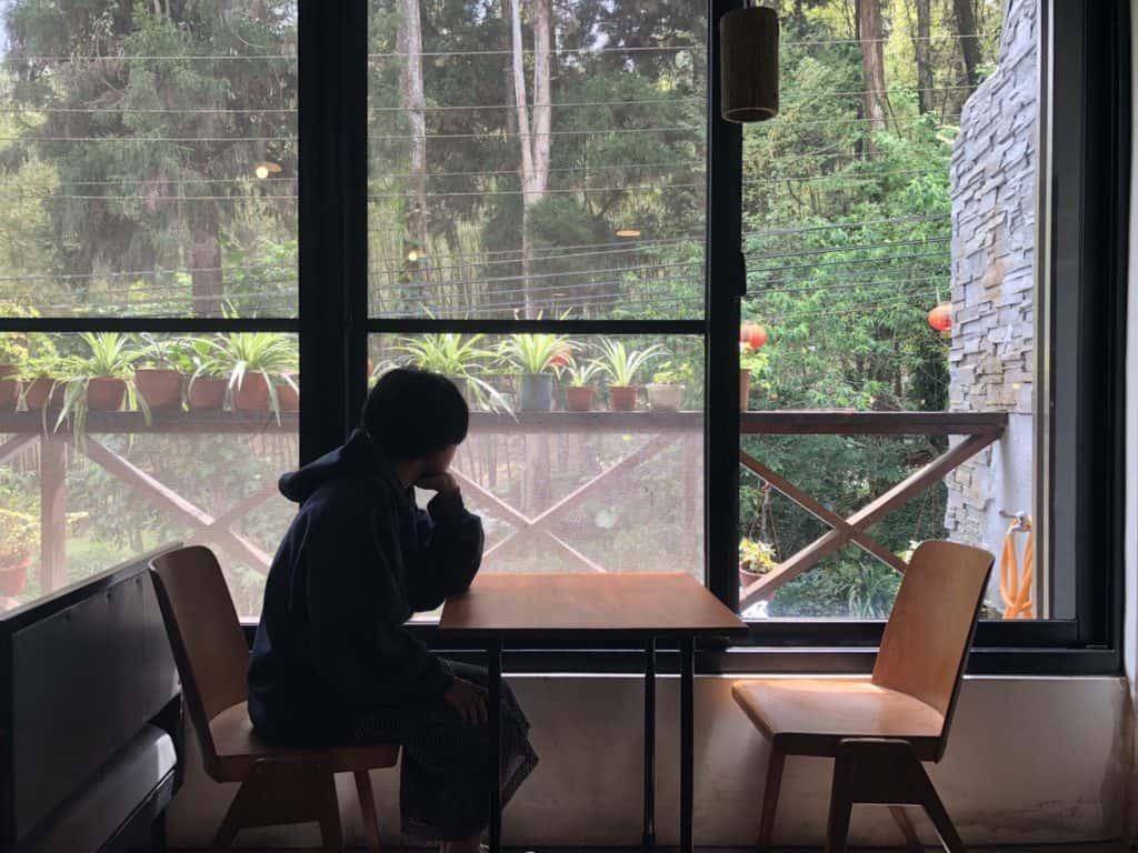 七天四季 民宿-一樓咖啡座席