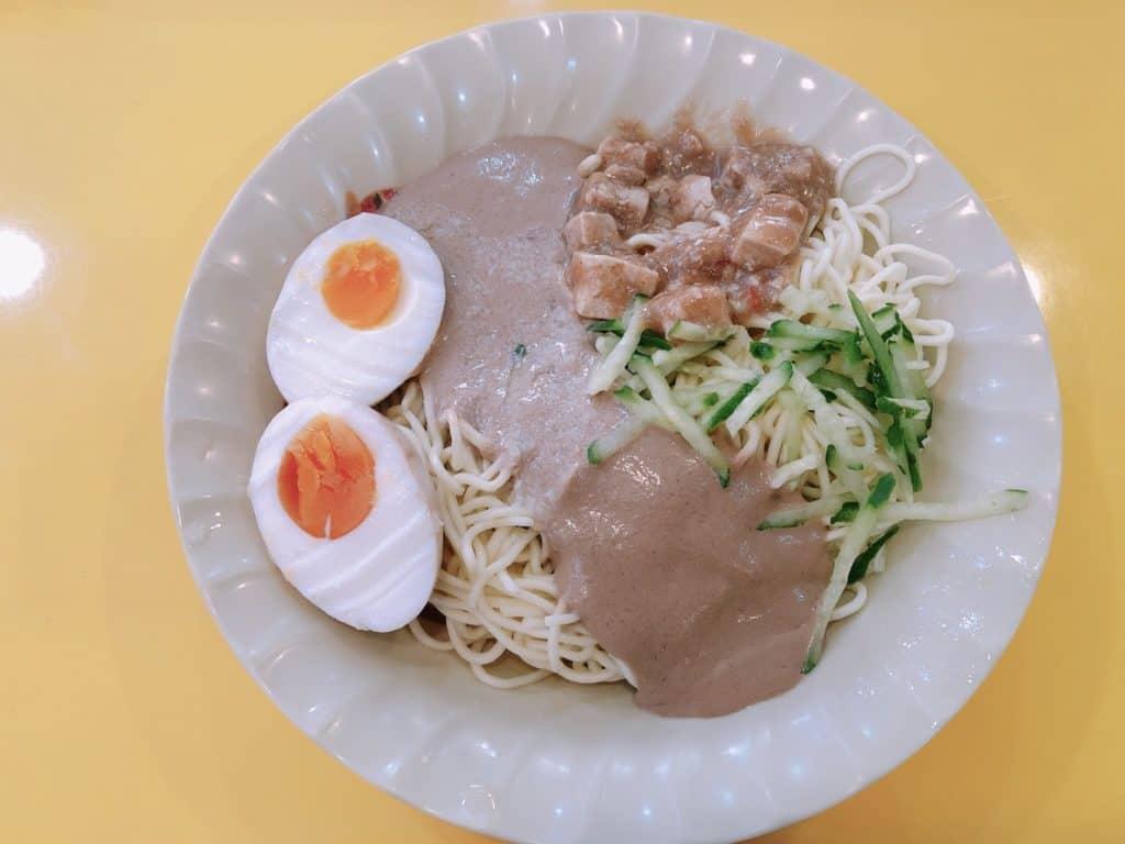 台北|松山區|涼感口感兼具,3種口味任你選-饒河街玖二涼麵-招牌涼麵