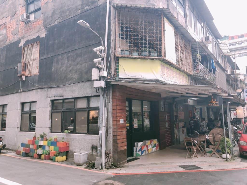 台北|大安區|big table 每天都想吃的美味.自家烘培三明治早午餐-店外