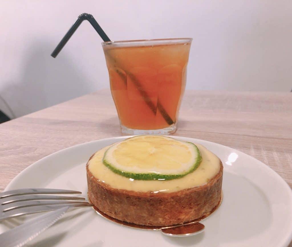 【Doublé L pâtisserie】法式甜點實力派.只營業6小時的美味|伯爵檸檬茶/檸檬塔