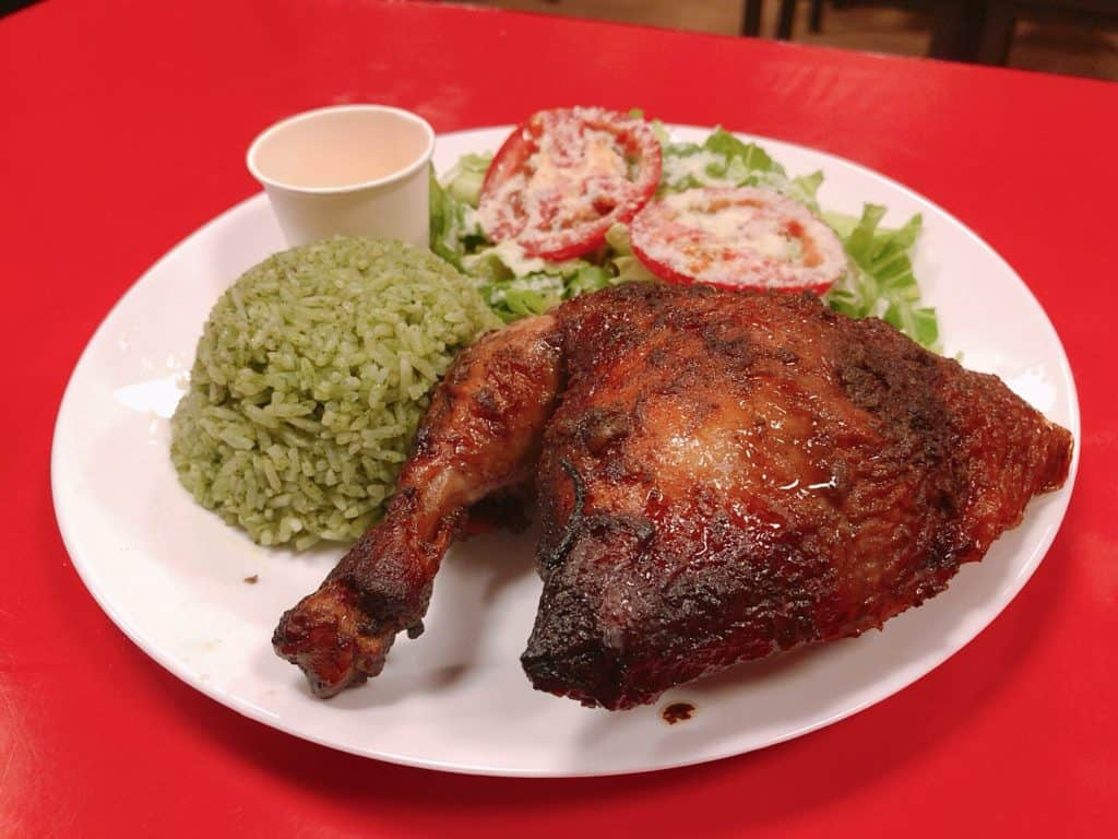 台北烤雞店-秘魯烤雞3號餐