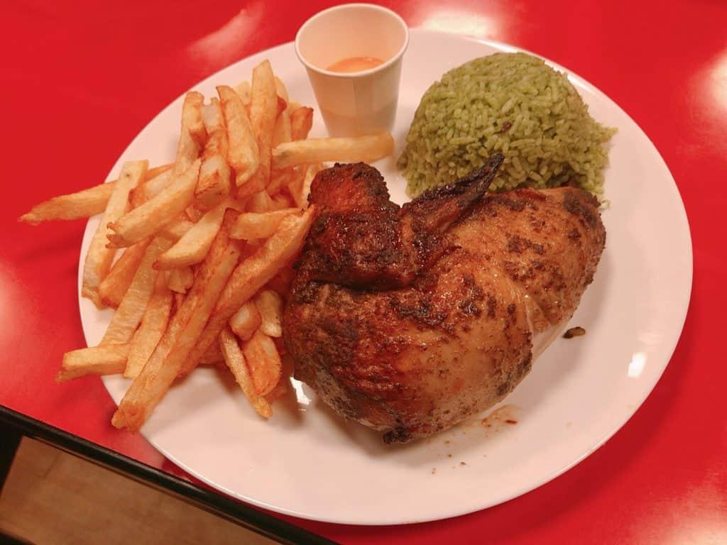 台北烤雞店-秘魯烤雞2號餐
