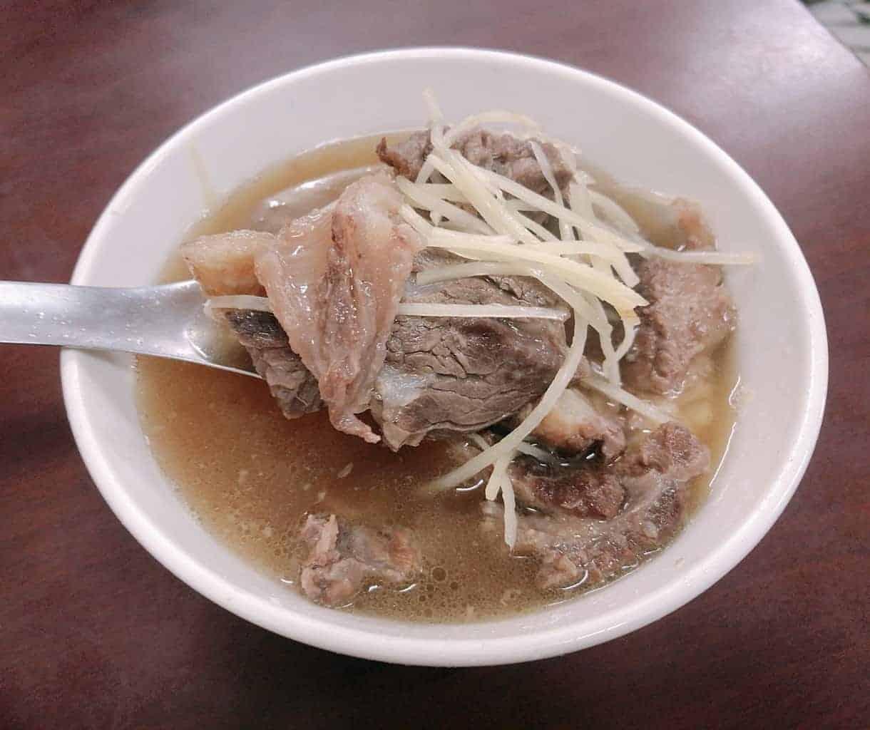 台南學甲美食:順德牛肉湯