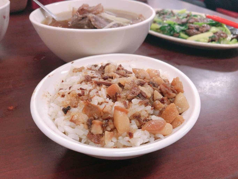順德牛肉湯 -肉燥飯