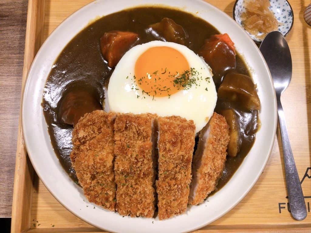 富士咖哩fuji curry-豬排咖哩