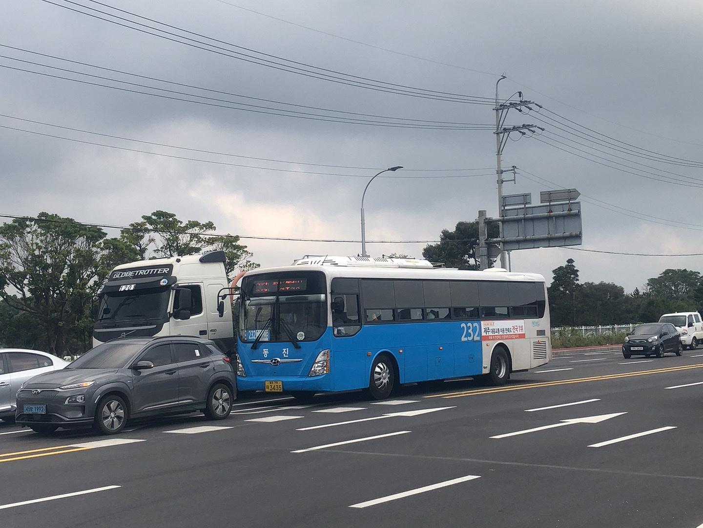 濟州島山君不離交通-巴士232