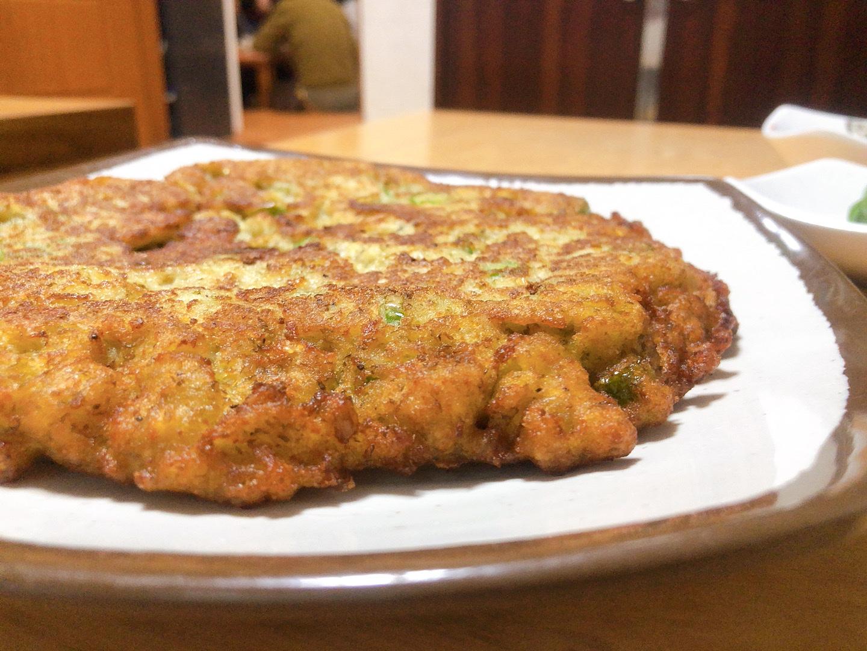 濟州島美食-宇進解酒湯-綠豆煎餅