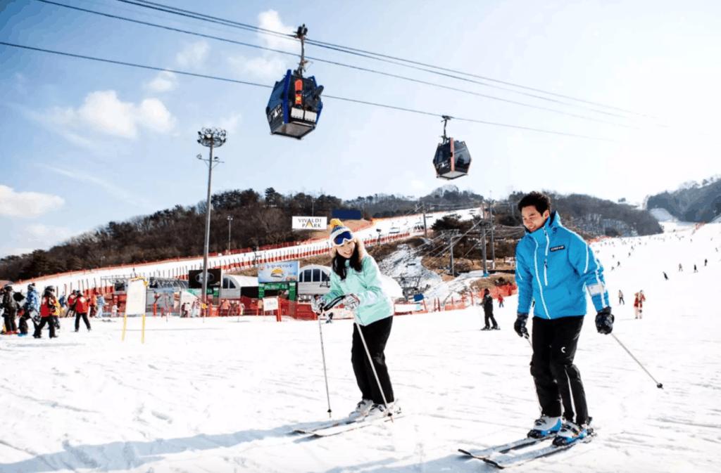 洪川大明維瓦爾第滑雪場