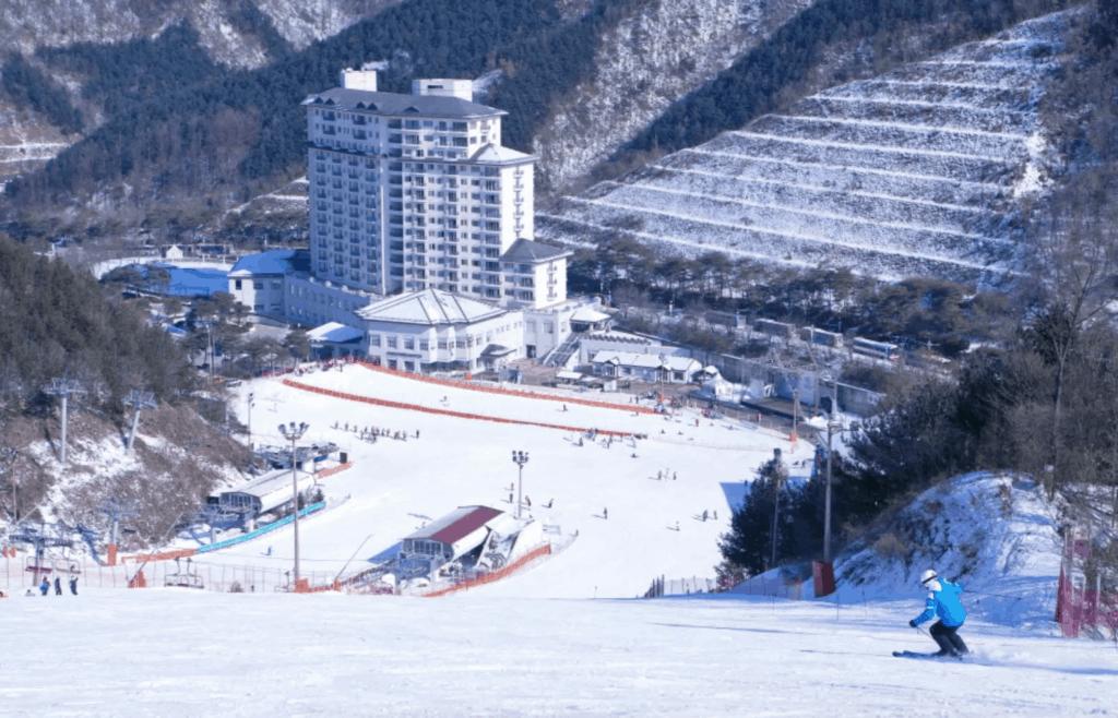 韓國滑雪場 芝山滑雪度假村