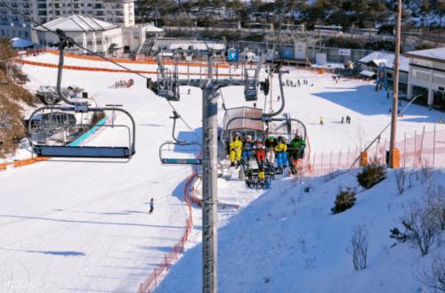 韓國滑雪場 伊利西安滑雪場