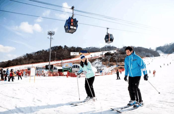 韓國滑雪場 洪川大明維瓦爾第滑雪場
