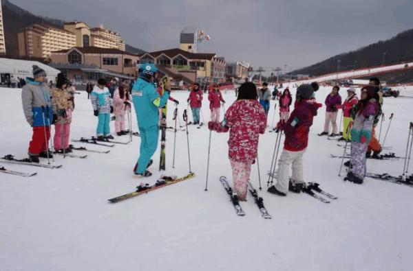 中文教練滑雪場