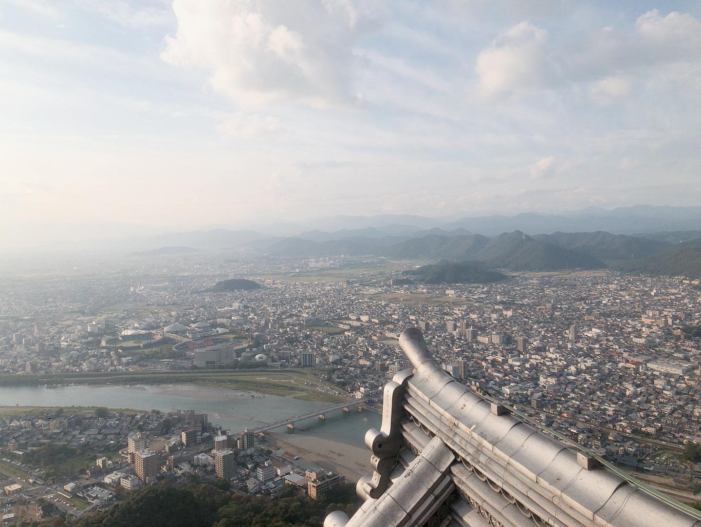 岐阜城 頂樓美景