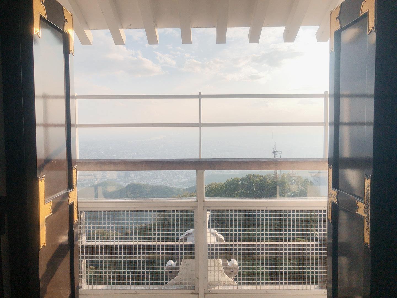 岐阜城 頂樓觀景台