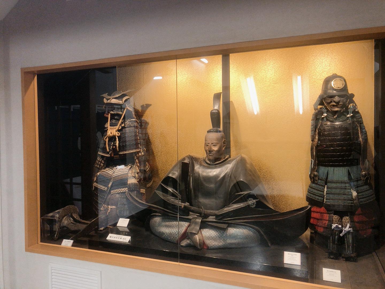 岐阜城 雕像及歷史文物