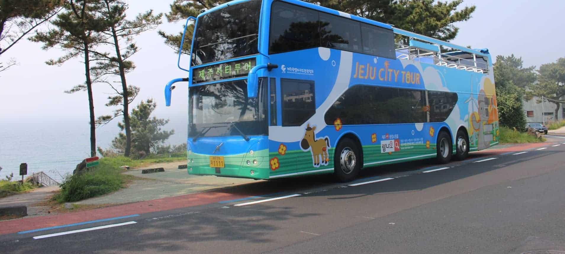 濟州島自由行 濟州觀光巴士
