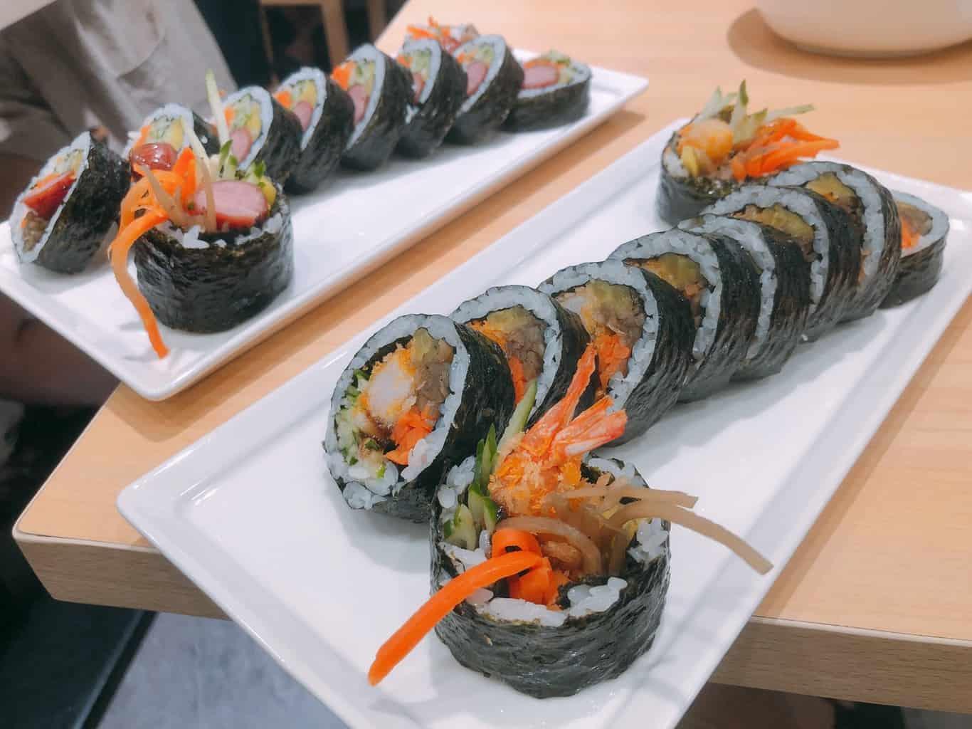 宴先紫菜飯捲 韓式飯捲