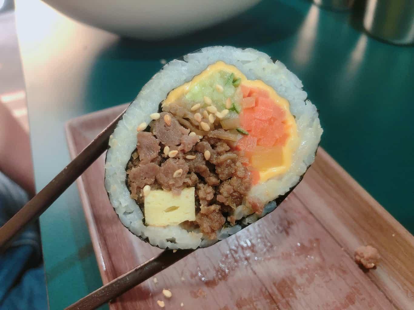 韓式飯捲 紫菜捲 台北 韓國