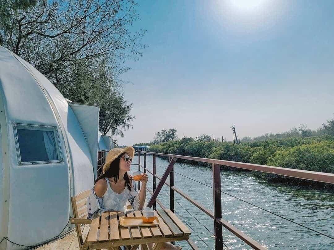 台南雙春濱海遊憩區 免裝備露營 愛莊園